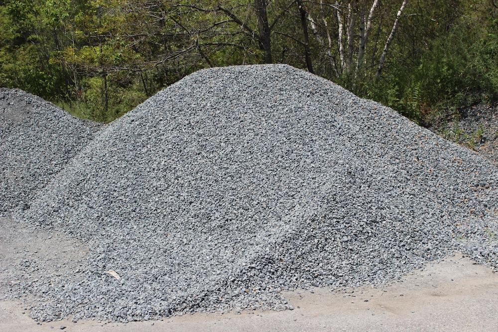 Crushed Blue Stone : Landscaper hanson ma bulk materials landscape