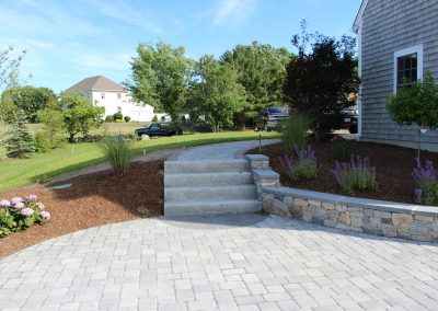 after-patio-granite-steps-concrete-veneer-wall-plantings-2