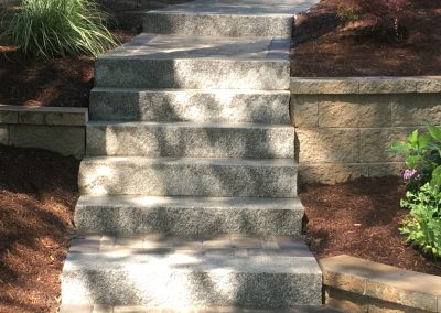 Granite Steps & Walkway
