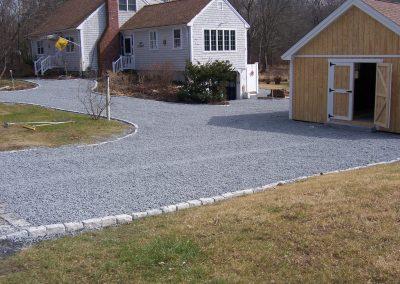 Cobblestone, Blue Stone Driveway