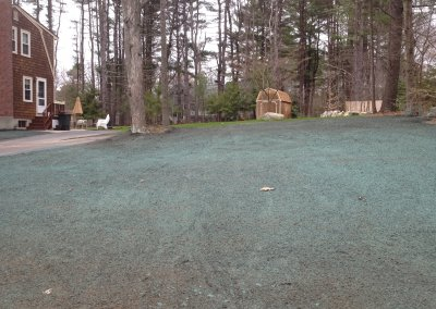 Hydroseeding and Sod Installation